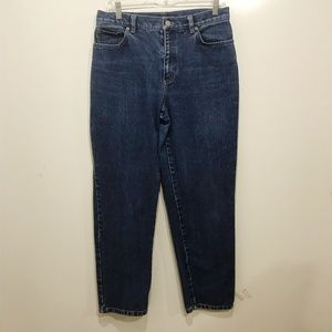 LRL Size 10P Mom Jeans High Rise Vintage Straight